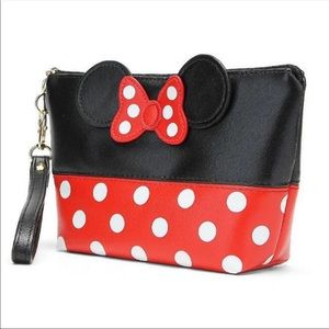 Minnie Mouse Makeup Bag. Red and Black